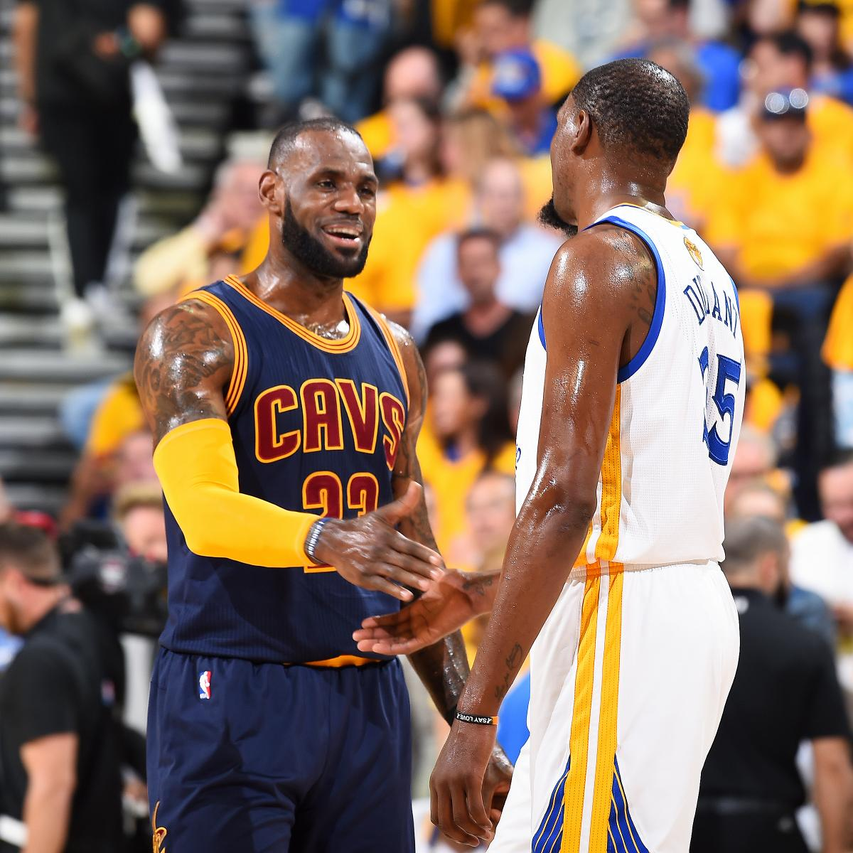 Warriors Come Out To Play Bleacher Report: LeBron James Discusses Kevin Durant's Impact On Warriors