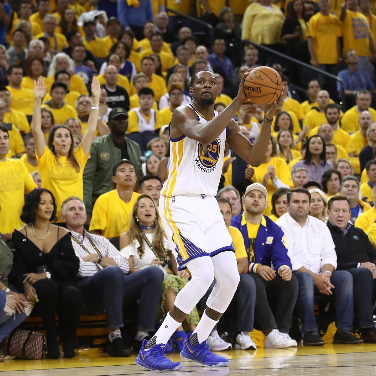 NBA Finals 2017: Warriors Vs. Cavaliers Game 2 Odds, Prop