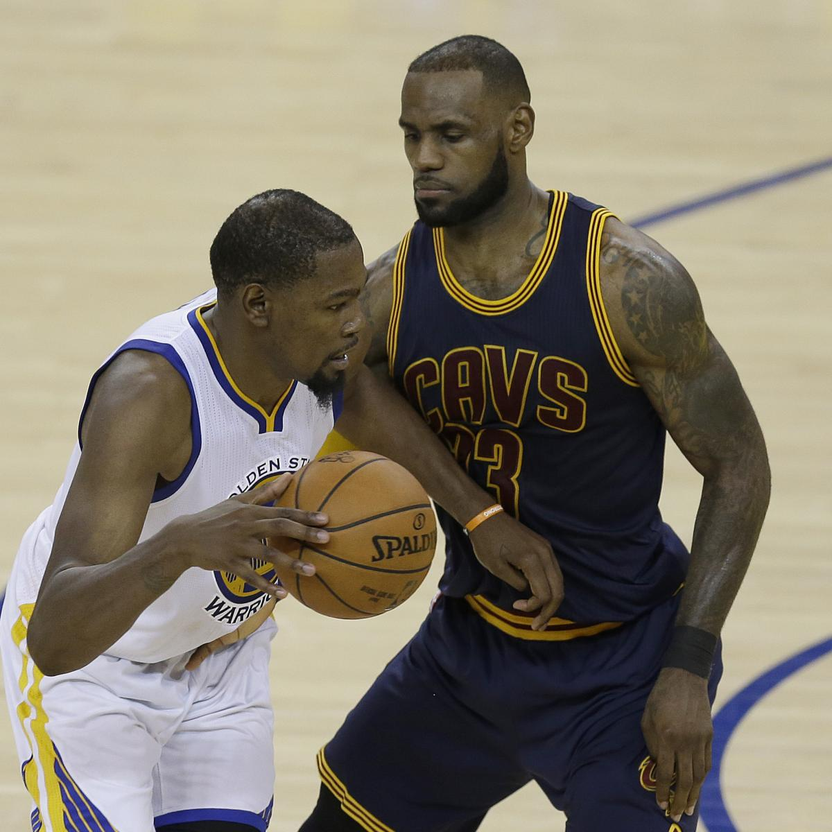 Cavaliers Vs. Warriors Game 2 TV Schedule, Live-Stream