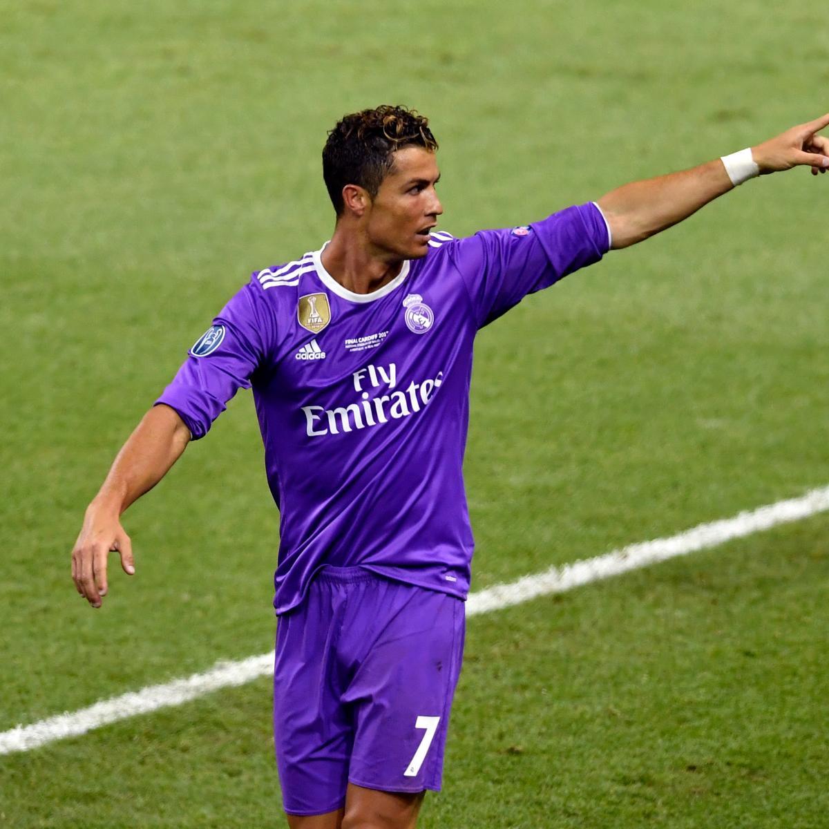 Cristiano Ronaldo S 4 Goals Lead Real Madrid To Win Vs: Cristiano Ronaldo Scores 600th Career Goal For Club And