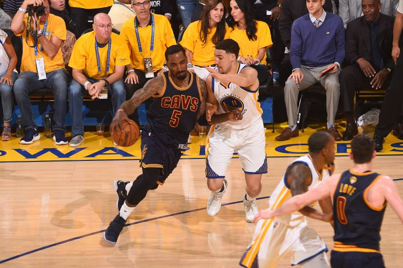 efe8713d435 J.R. Smith Says If Cavaliers Stick to Game Plan Warriors  Can t Beat  Them