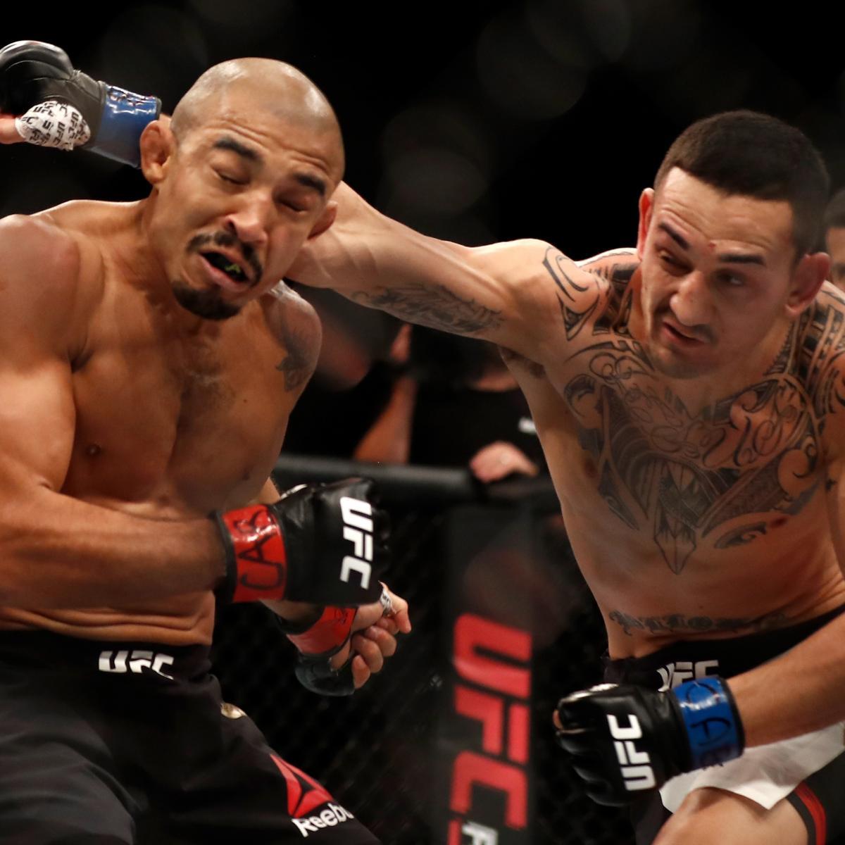 UFC 212 Results: Max Holloway Defeats Jose Aldo Via TKO In