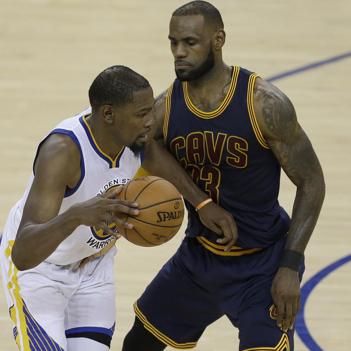 Warriors Game Live Stream Free Espn: LeBron James, Kevin Durant Reportedly Collaborated On Hip