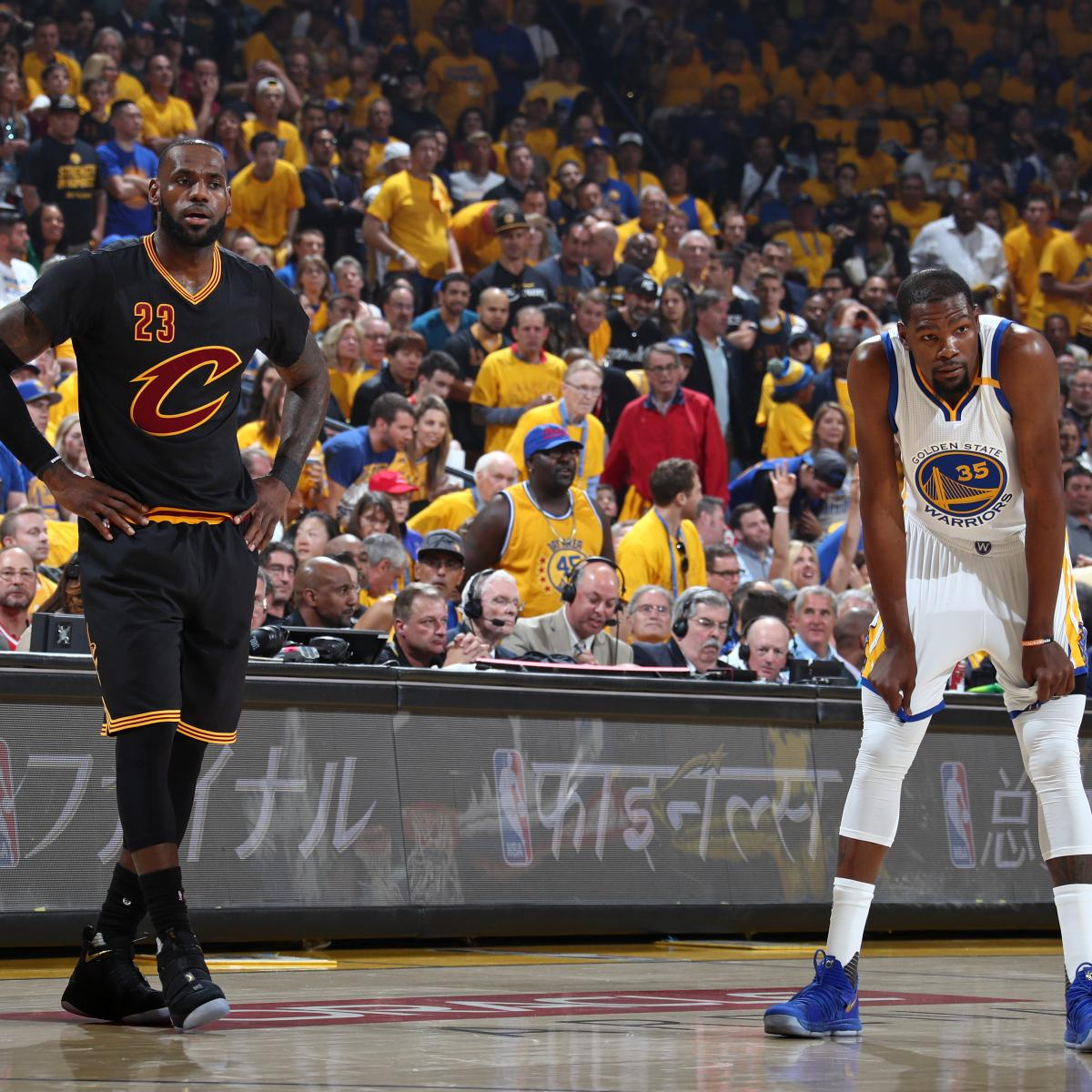 2017 NBA Finals Ratings After 2 Games Highest Since