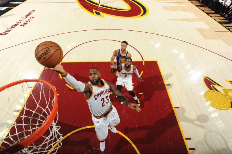 cb7e75a8c94 LeBron James Moves to 4th Place on NBA Finals All-Time Scoring List ...