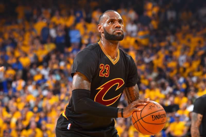 35a754a35f6 LeBron James Passes Michael Jordan as All-Time NBA Finals Free-Throw Leader