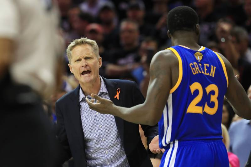 Steve Kerr Comments on Draymond Green Technical Confusion, Game 4 ...
