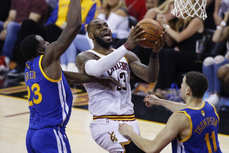 ebf5ee24f545 Cavaliers vs. Warriors Game 5 TV Schedule
