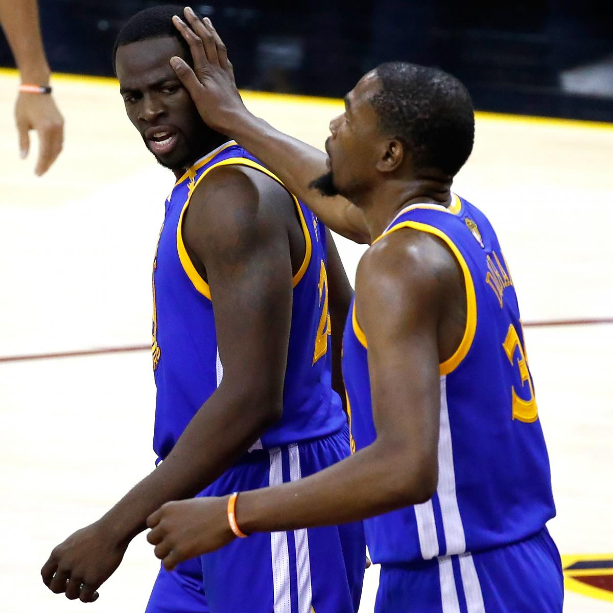 Kevin Durant Says Draymond Green Did Not Call Him After 2016 Finals Loss
