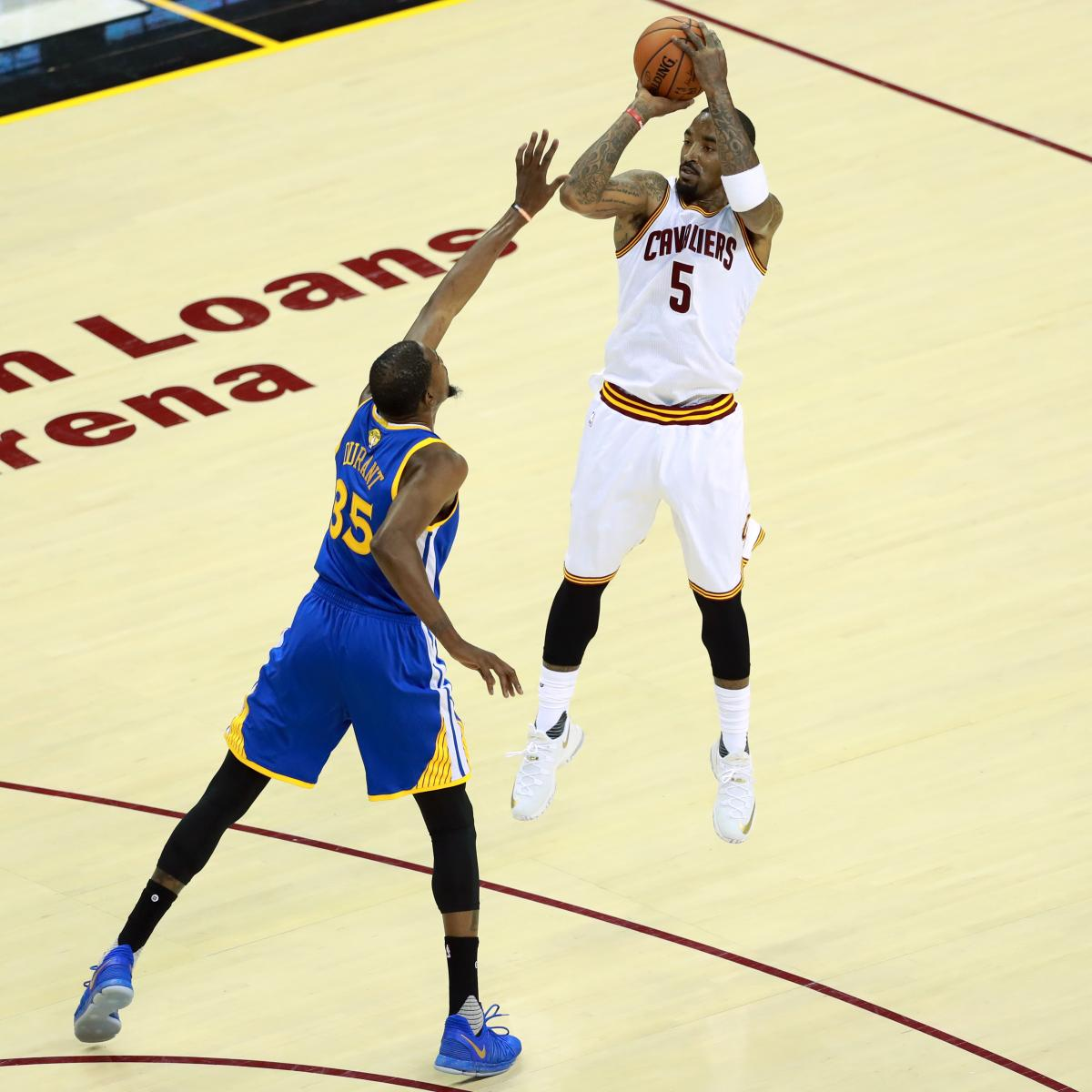 NBA Finals 2017: Warriors Vs. Cavaliers TV Schedule And