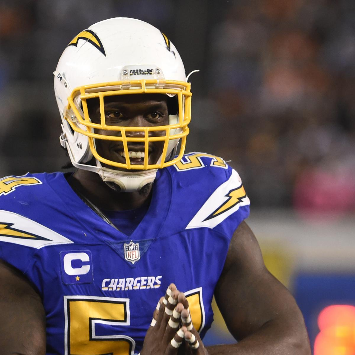San Diego Chargers Defence: Melvin Ingram Signing A Home Run For Rising Los Angeles