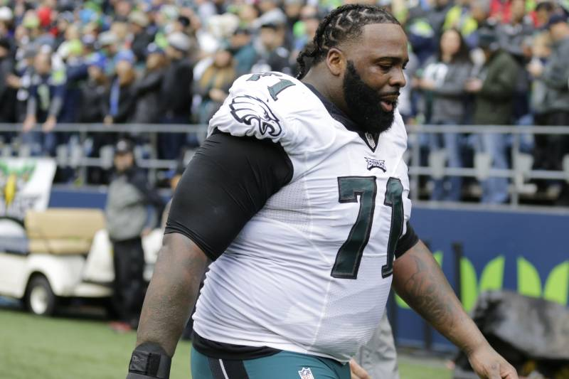 sports shoes 19e83 2f1d0 Jason Peters, Eagles Agree on Contract Extension Through ...