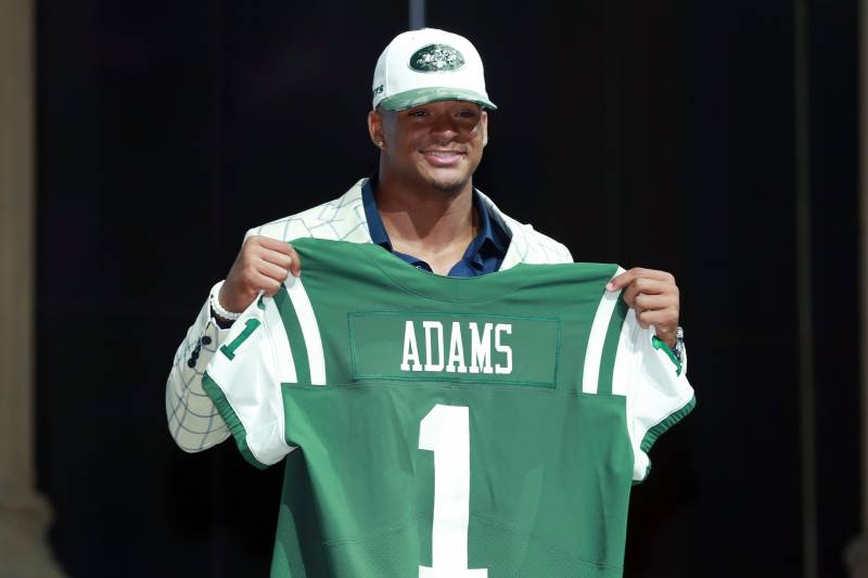 premium selection 16726 bbb2d Jamal Adams Suffers Ankle Injury During Jets Training Camp ...