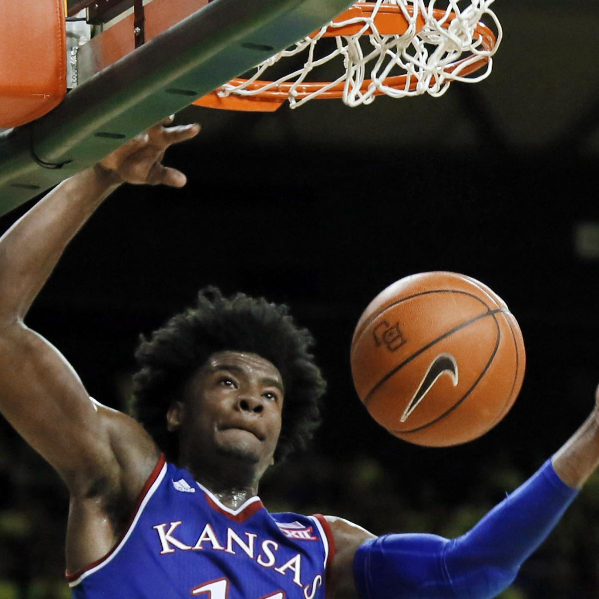 T Of C Alums 2017 Nba Draft: 2017 NBA Draft: Josh Jackson, Lonzo Ball Fighting To