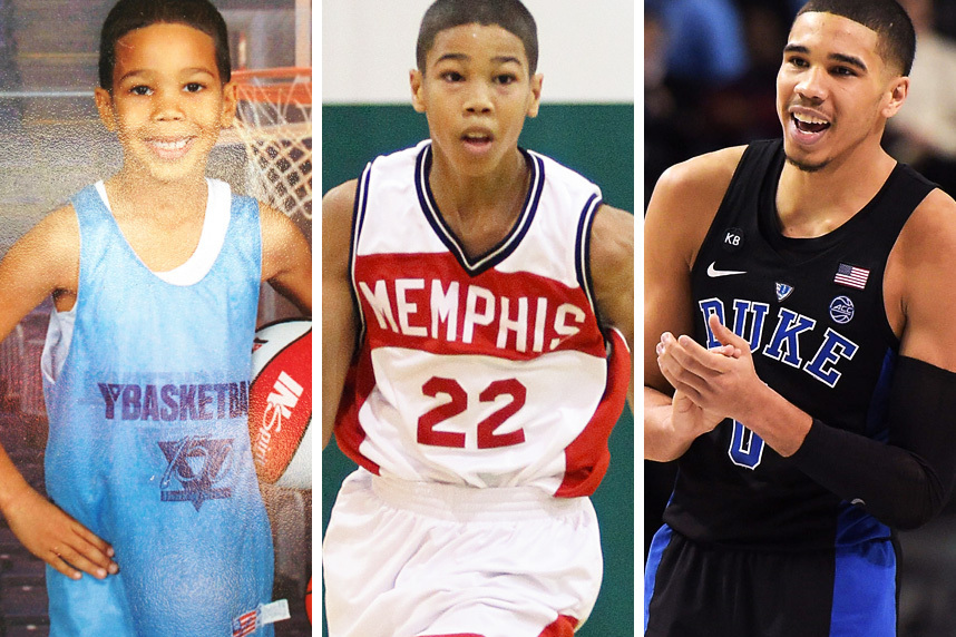 more photos 1a7bf 7f5b6 Built for Basketball': Jayson Tatum Was Born and Raised to ...