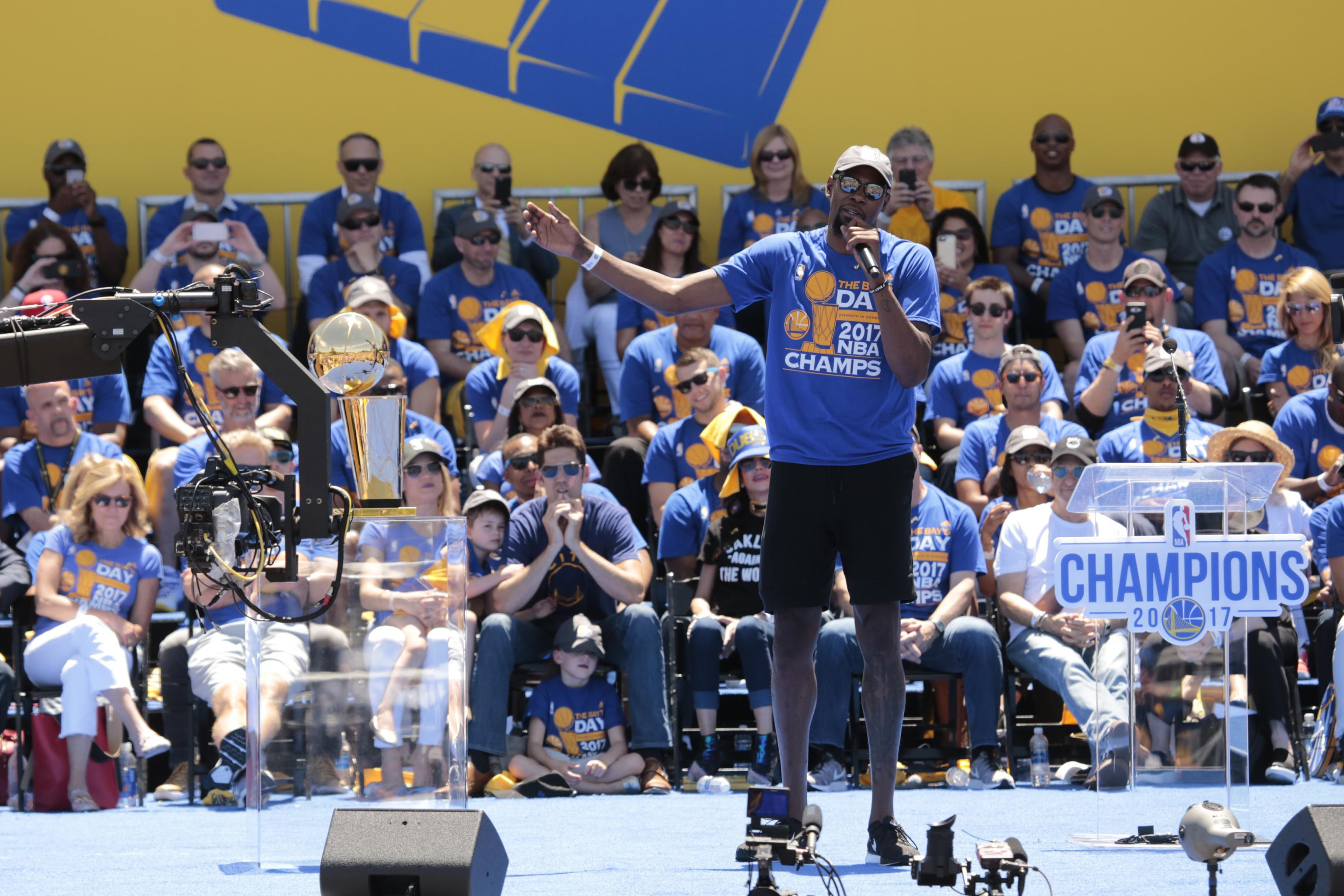 2018 NBA Championship Odds: Golden State Warriors Favorite