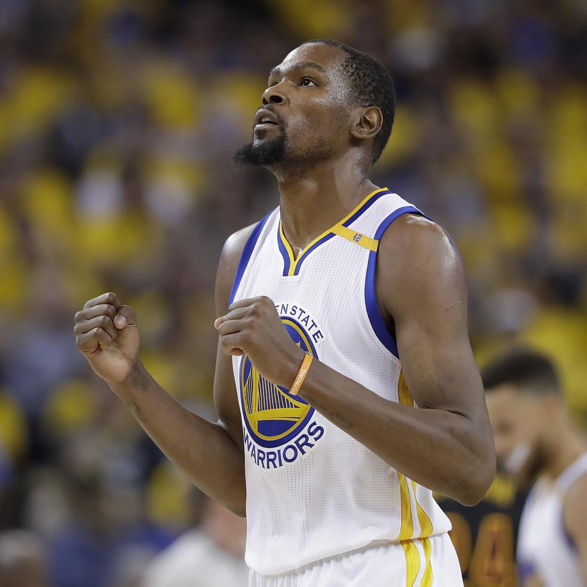 Kevin Durant Reportedly to Decline Contract Option, Re-Sign with Warriors