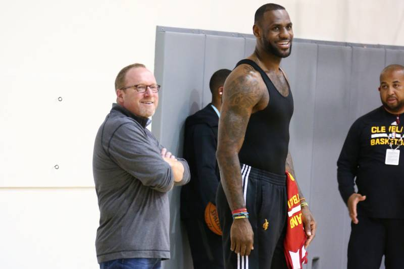 e5e20dbb729 LeBron James  Camp Reportedly Unaware David Griffin Was Leaving Cavaliers