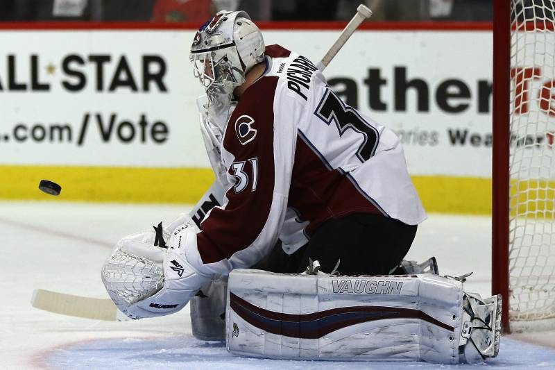 Calvin Pickard Selected No 1 By Vegas Golden Knights In 2017