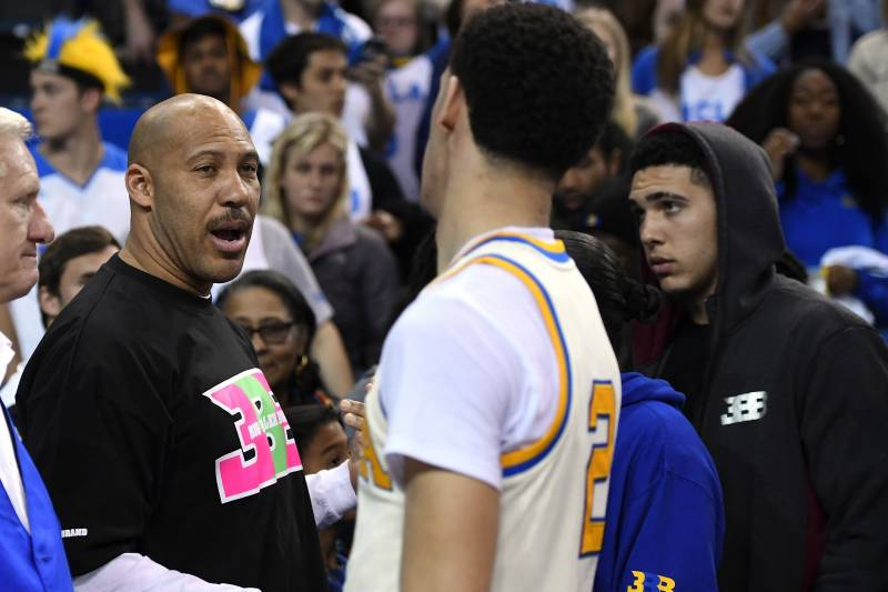 fa6504ef477 LaVar Ball Says Lakers Will Make Playoffs Next Season After Lonzo ...