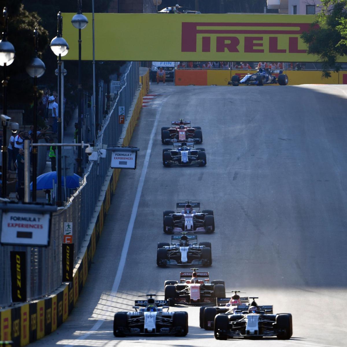 Azerbaijan News And Scores: Azerbaijan F1 Grand Prix 2017 Results: Daniel Ricciardo