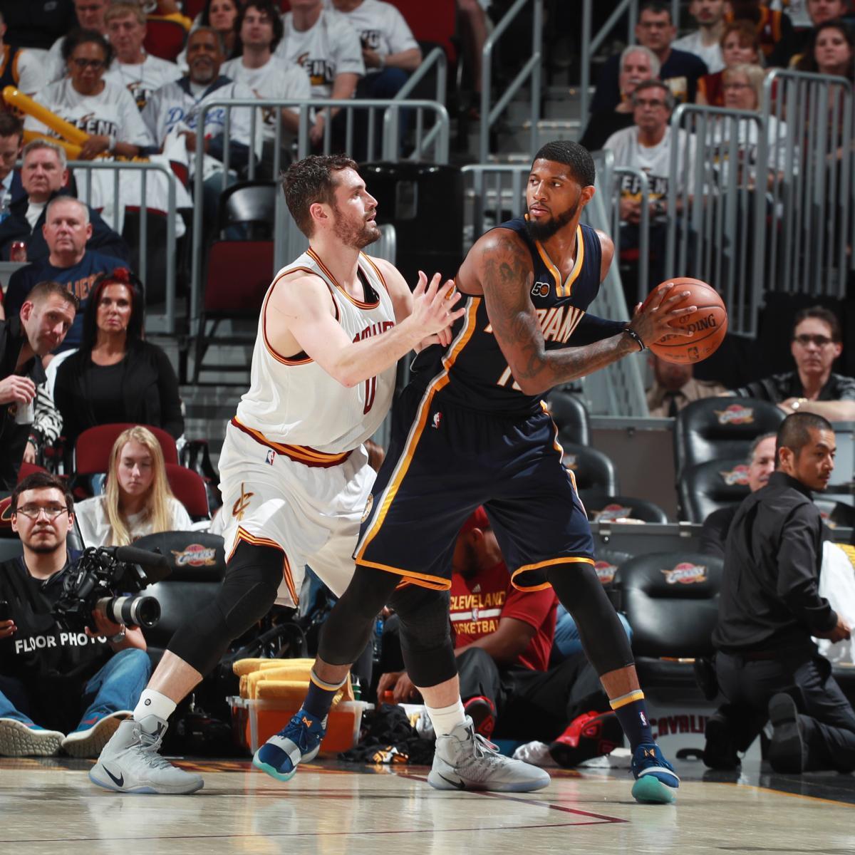 Paul George Rumors: Cavaliers, Pacers Talk 3-Team Trade