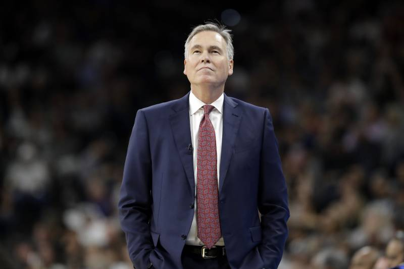 01a3726cc66f Houston Rockets head coach Mike D Antoni watches play against the San  Antonio Spurs during