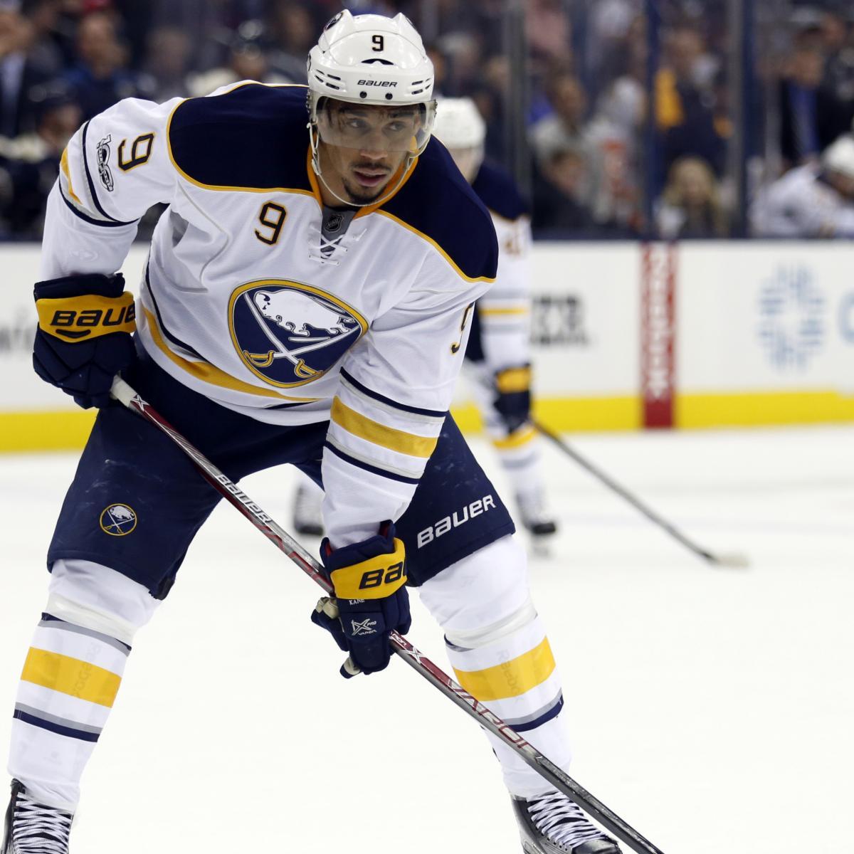 NHL Rumors: Top Trade Buzz Surrounding Evander Kane, Dion ...
