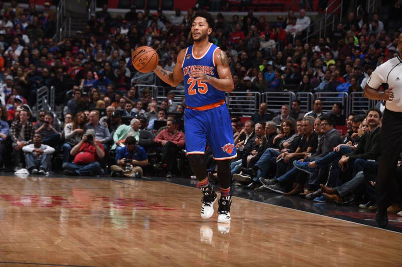 5d577a840ed4 Derrick Rose Reportedly Receiving  Legitimate  Free-Agency Interest from  Knicks