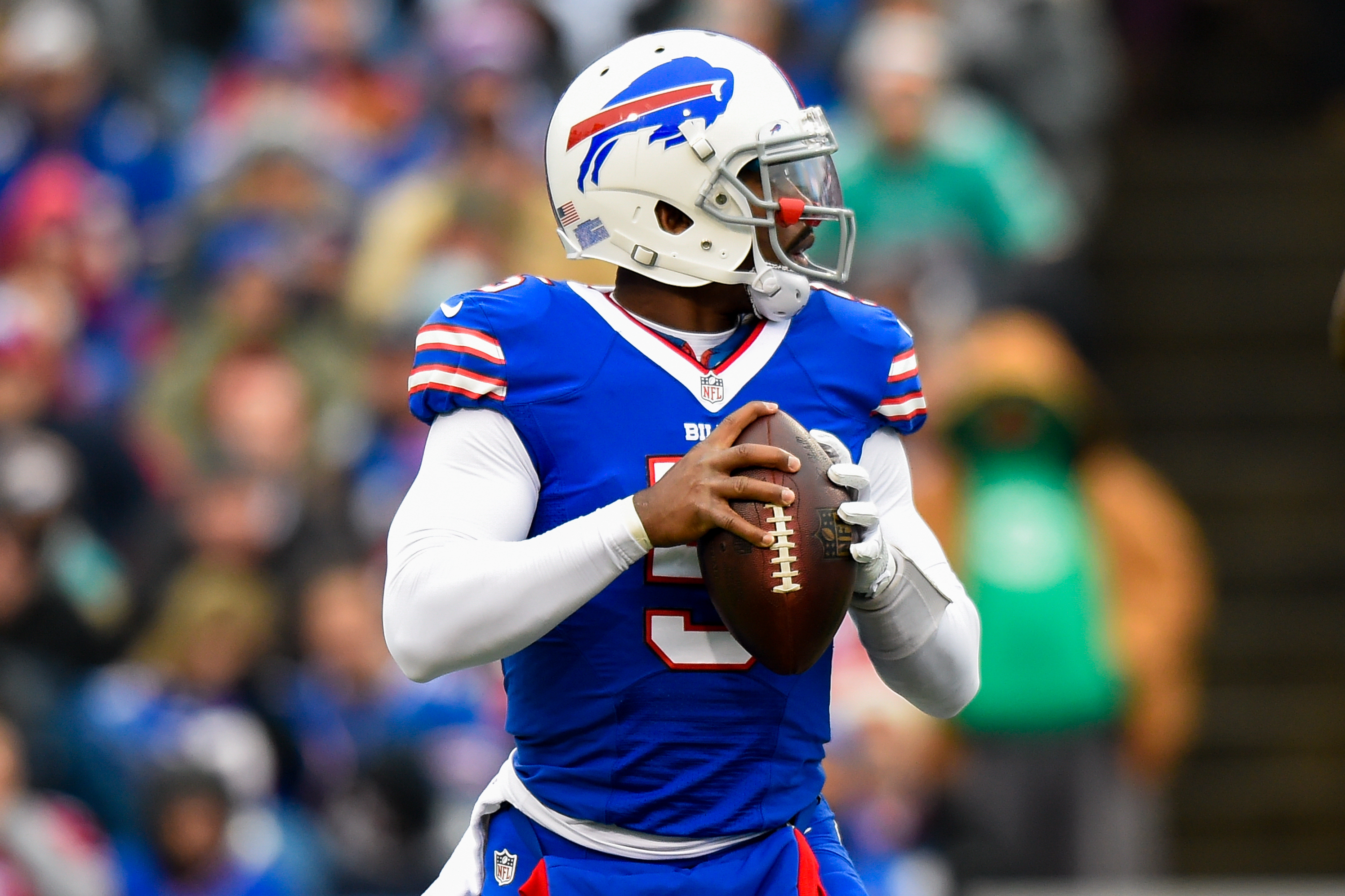 new product 87cd7 11f07 Tyrod Taylor Reportedly Suffers Concussion vs. Ravens in ...