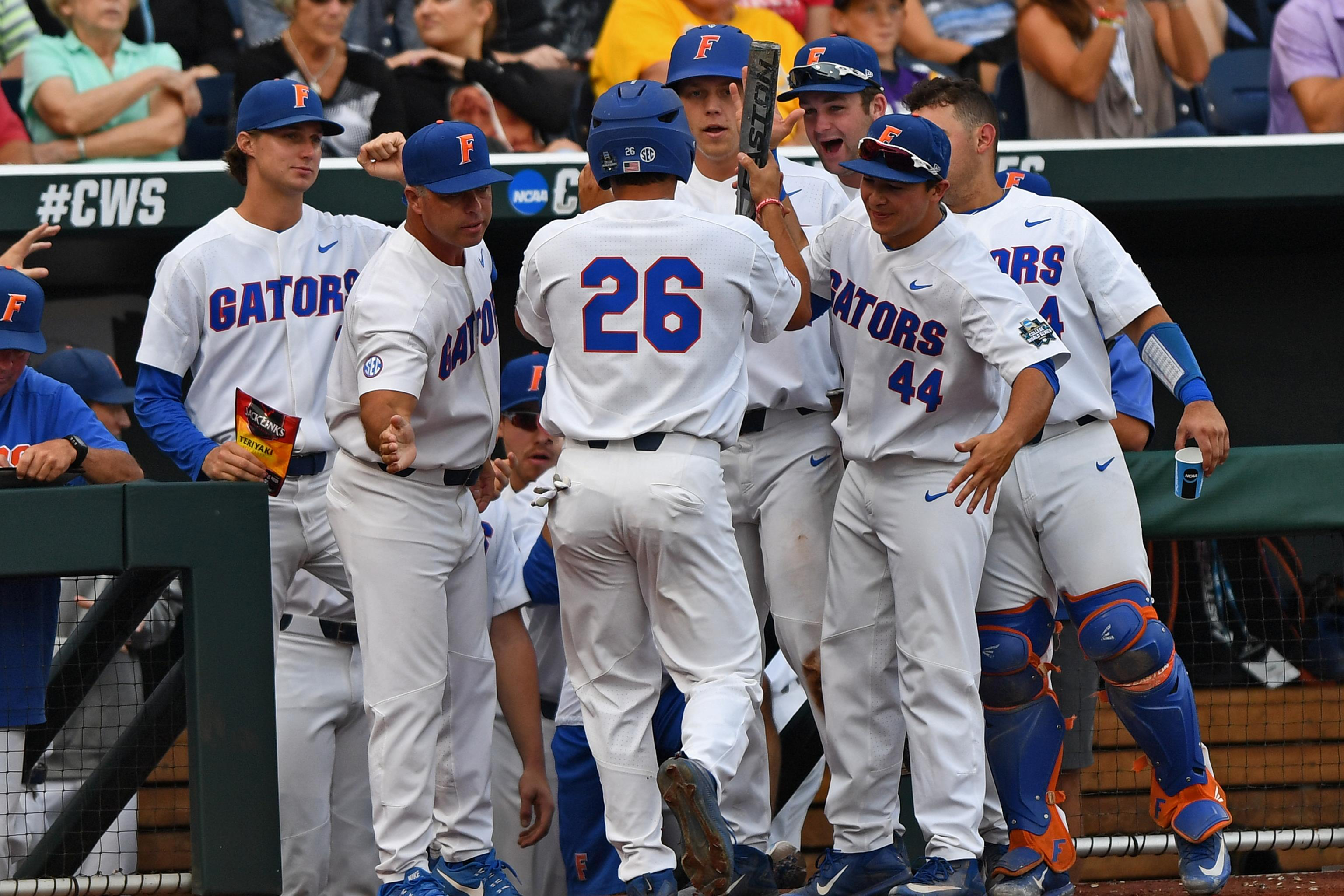 hot sale online 0df01 faa0b College World Series 2017: Top Comments and Twitter Reaction ...