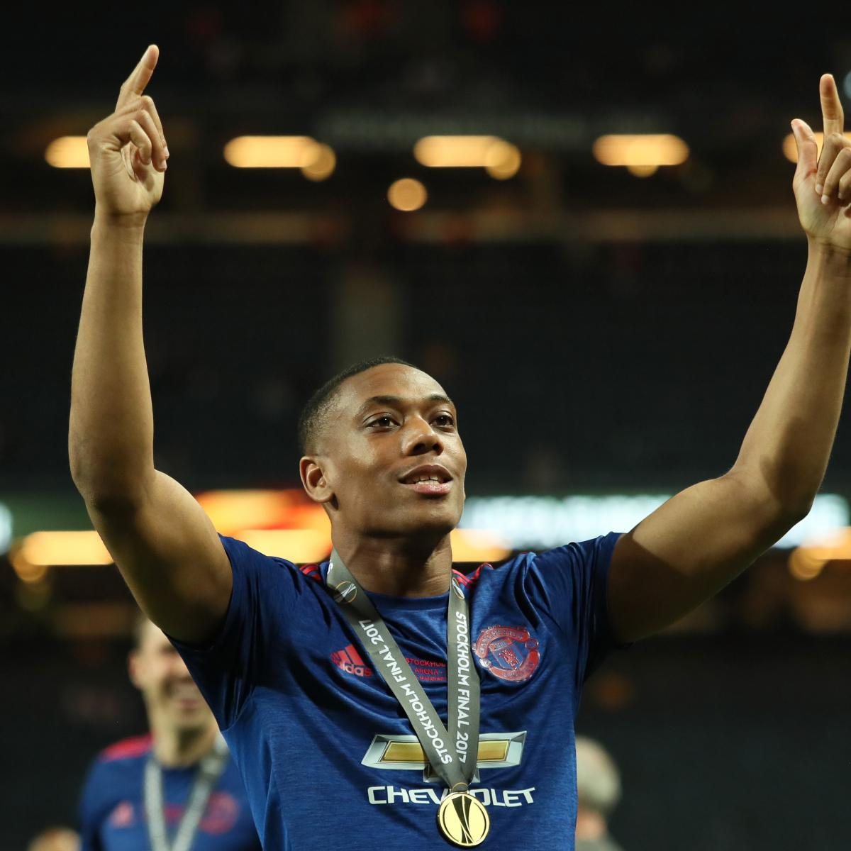 Manchester United S Anthony Martial Talks Debut Goal Vs: Anthony Martial Denies Rumours He Will Leave Manchester