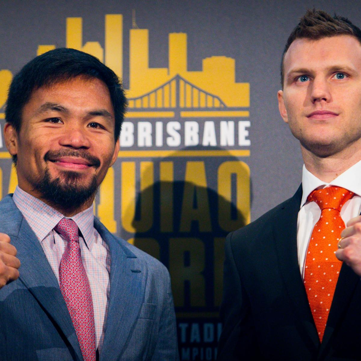 Manny Pacquiao Vs. Jeff Horn: Boxing Betting Preview, Odds