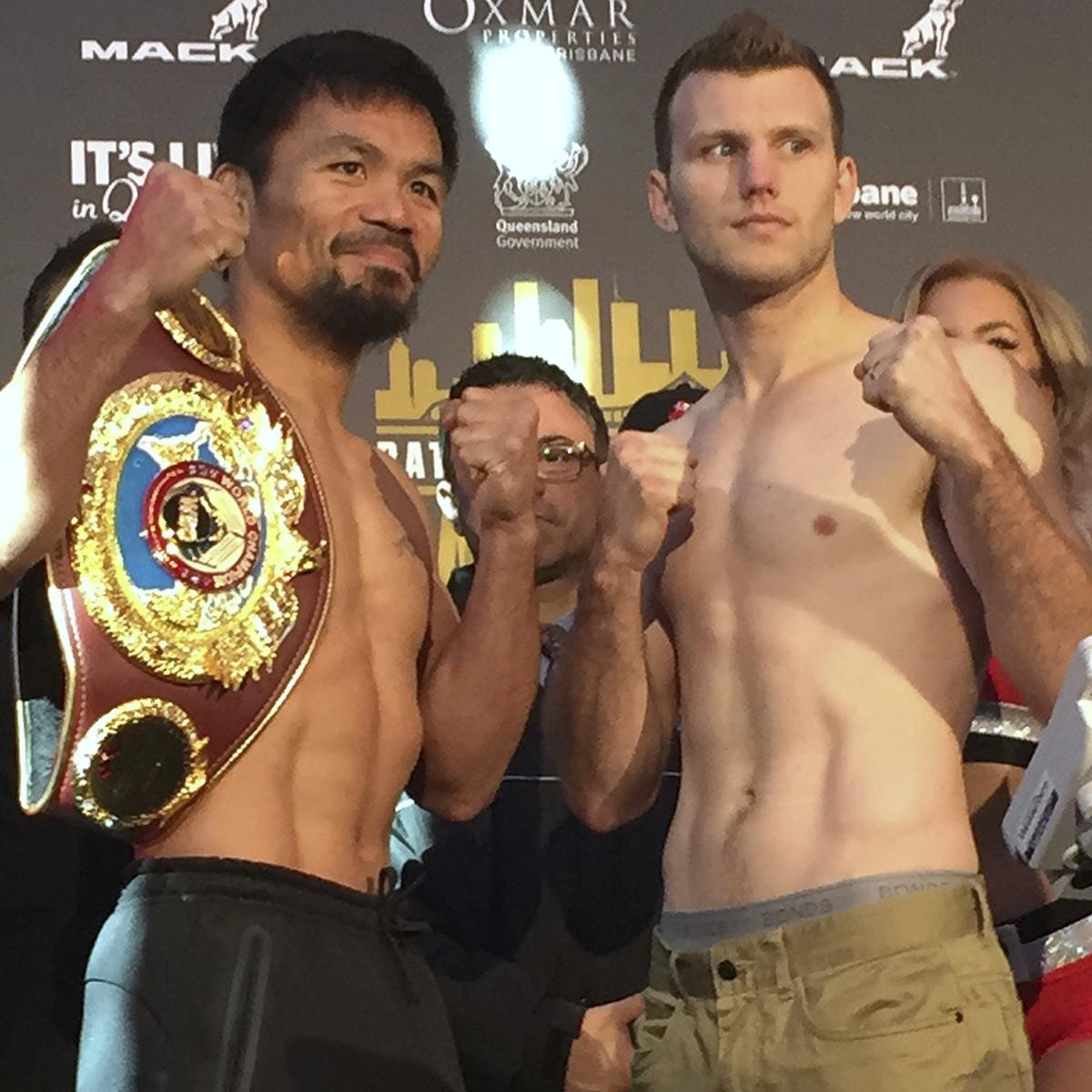 Pacquiao Vs. Horn Round-by-Round: How To Catch Live