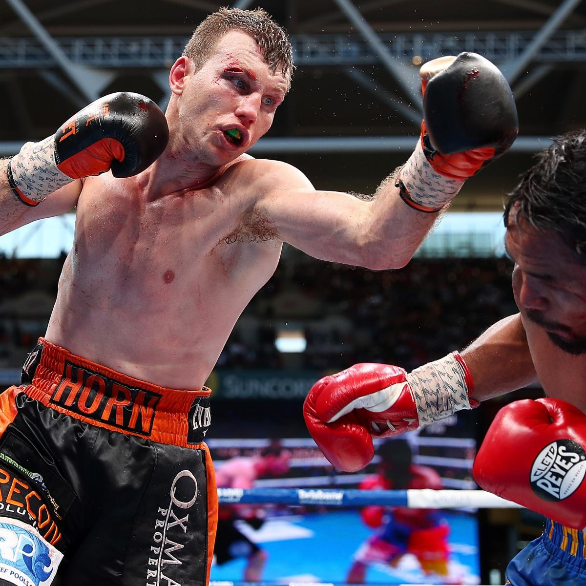 Manny Pacquiao Vs. Jeff Horn Results: Twitter Reacts To