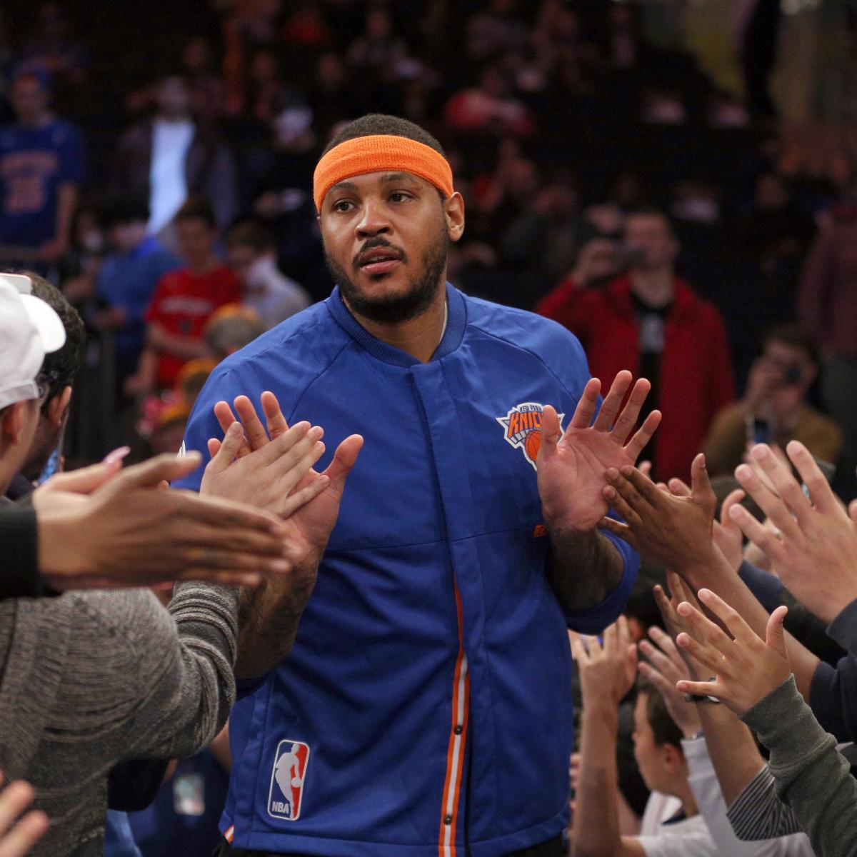 Houston Rockets Iman Shumpert: NBA Rumors: Latest Trade Buzz Surrounding Carmelo Anthony