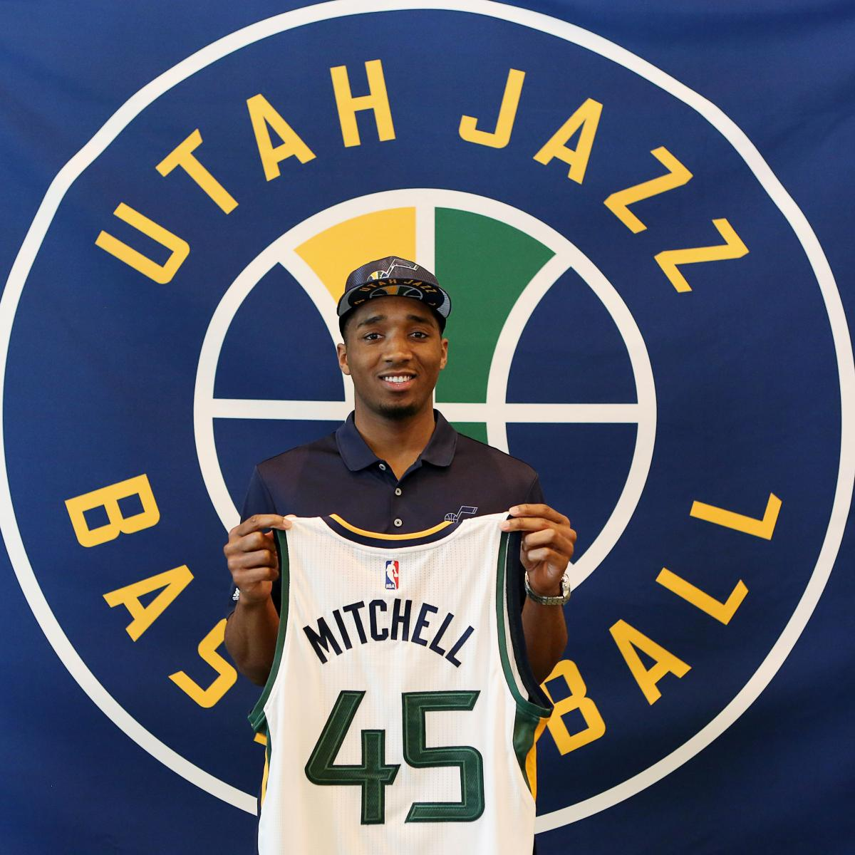 Colorado Shooting R H Youtube Com: Donovan Mitchell Signs Utah Jazz Rookie Contract
