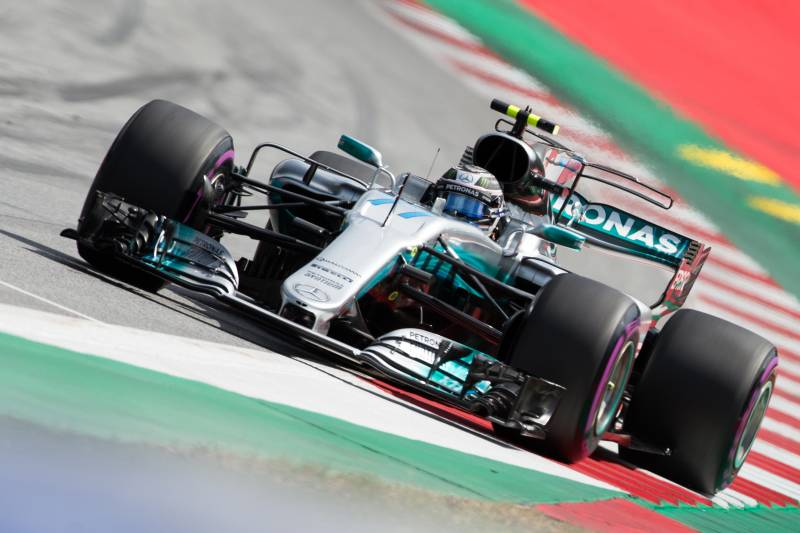 Austrian F1 Grand Prix 2017 Qualifying: Saturday's Results