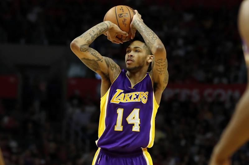 Brandon Ingram Tattoo Lakers