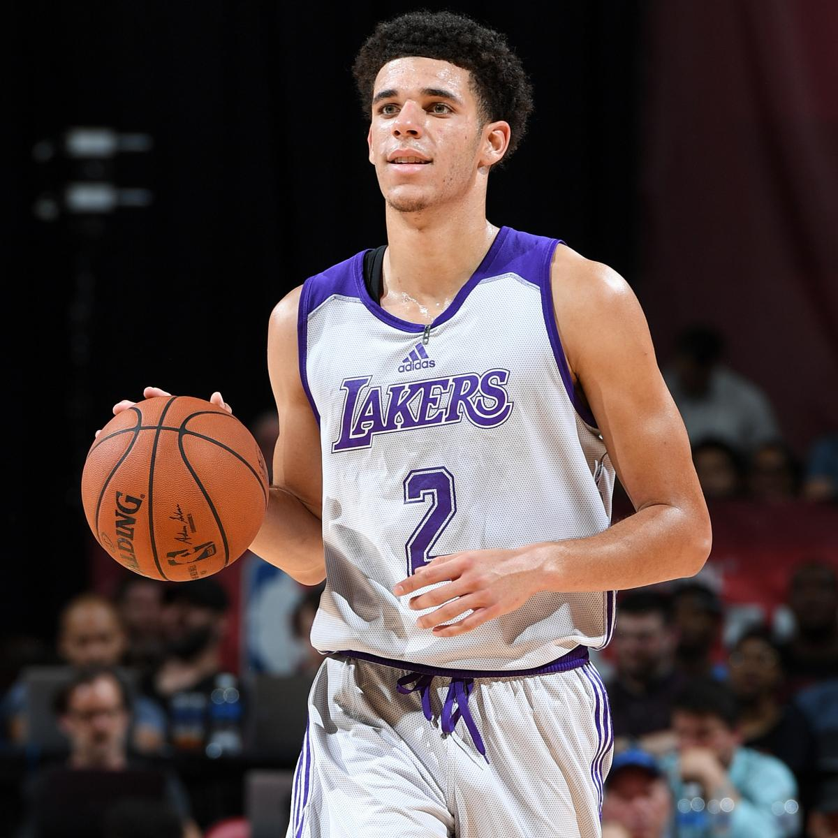 Lonzo Ball Records Triple-Double In Lakers Summer League