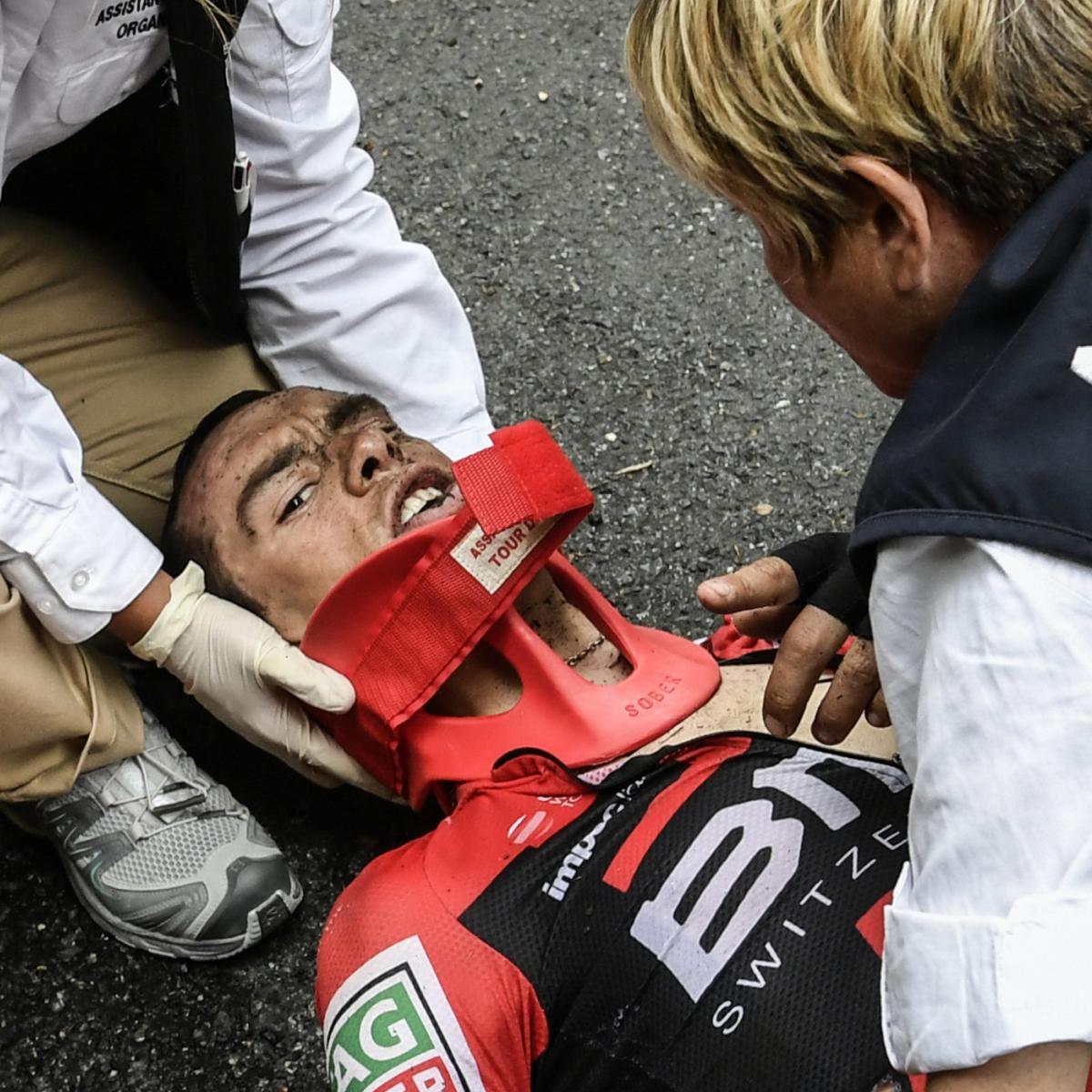 Richie porte hospitalized after mont du chat stage 9 tour for Richie porte crash