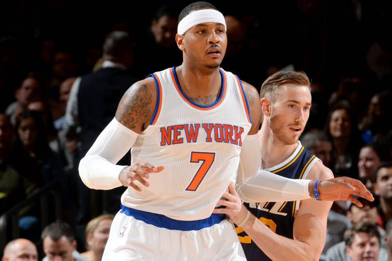 Nba Trade Rumors Latest Buzz On Carmelo Anthony Gordon Hayward Bleacher Report Latest News Videos And Highlights