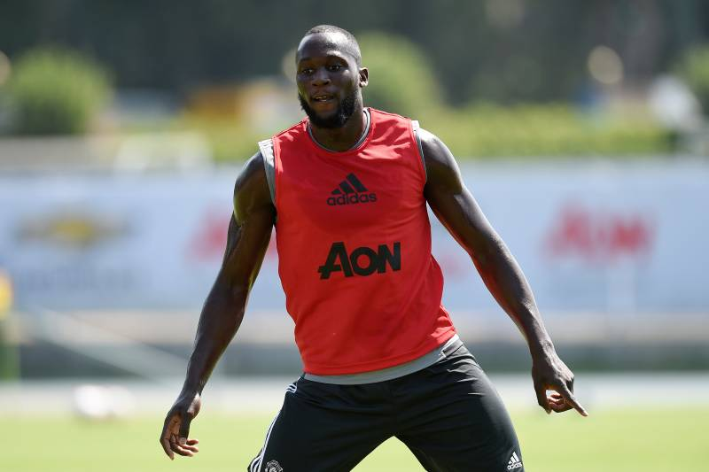 Romelu Lukaku will look to use his hulking frame to good effect for new club Manchester United.