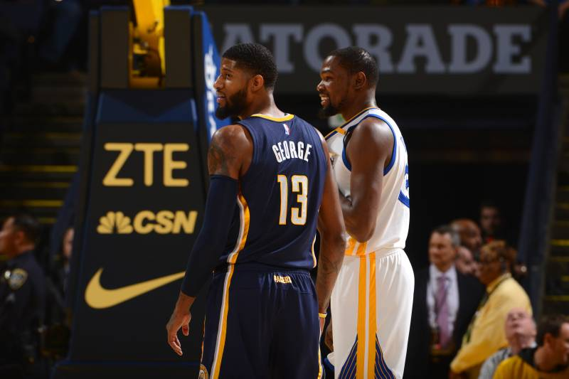 1aab7628c27 Kevin Durant Told Paul George Thunder  Will Blow You Away  After Trade