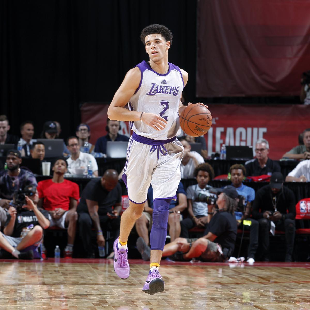 Lonzo Ball Explains Decision to Wear Nikes Instead of ZO2s vs. 76ers ... e9e570d0c2e