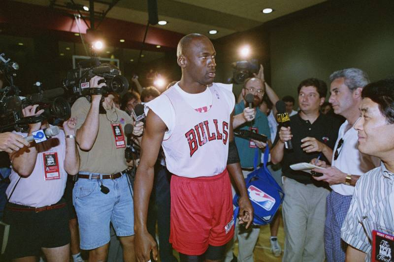 a9858bde2ac Michael Jordan s Former Teammates on How MJ Would ve Handled the Modern-Day  NBA