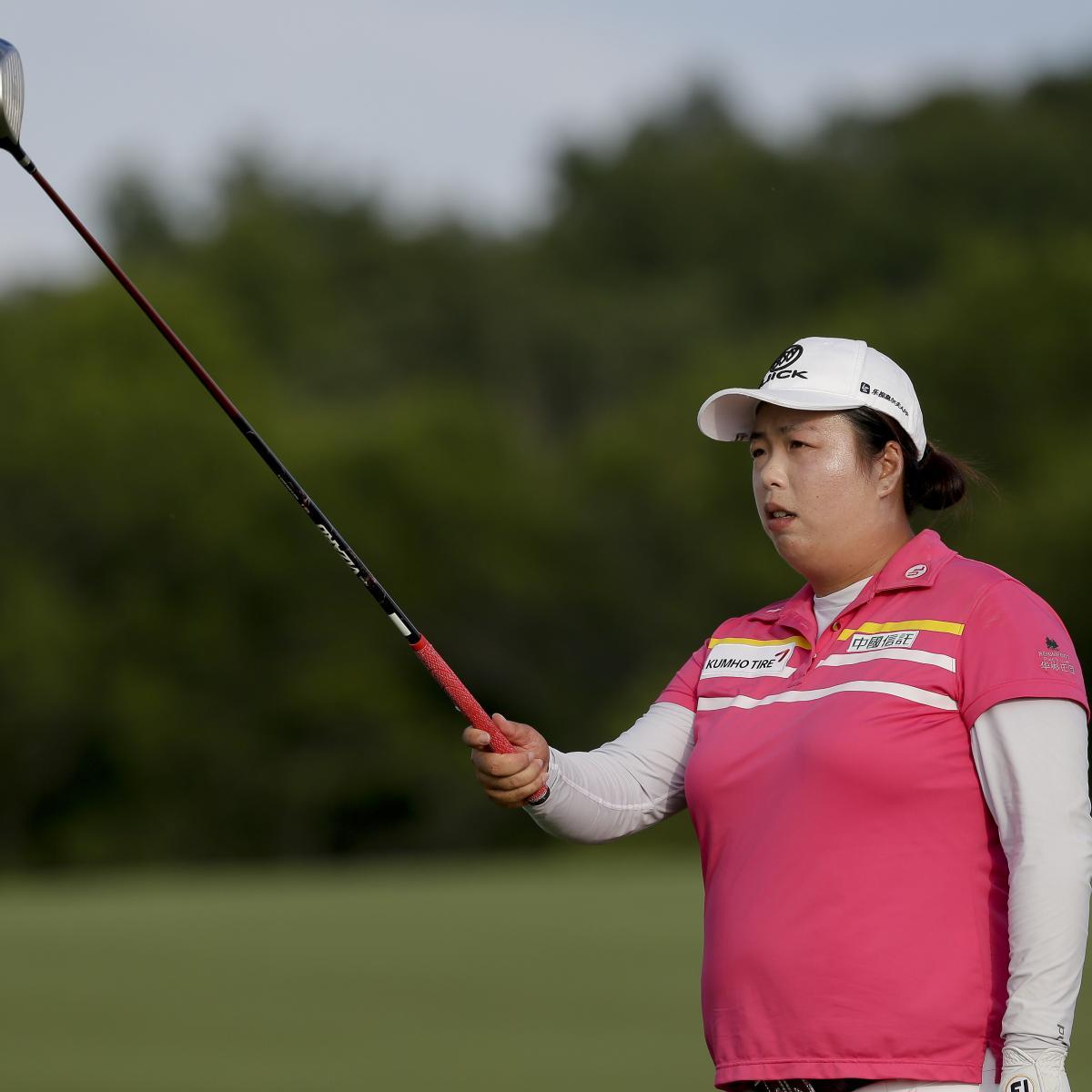 US Women's Open Golf 2017: Shanshan Feng Maintains Lead ...