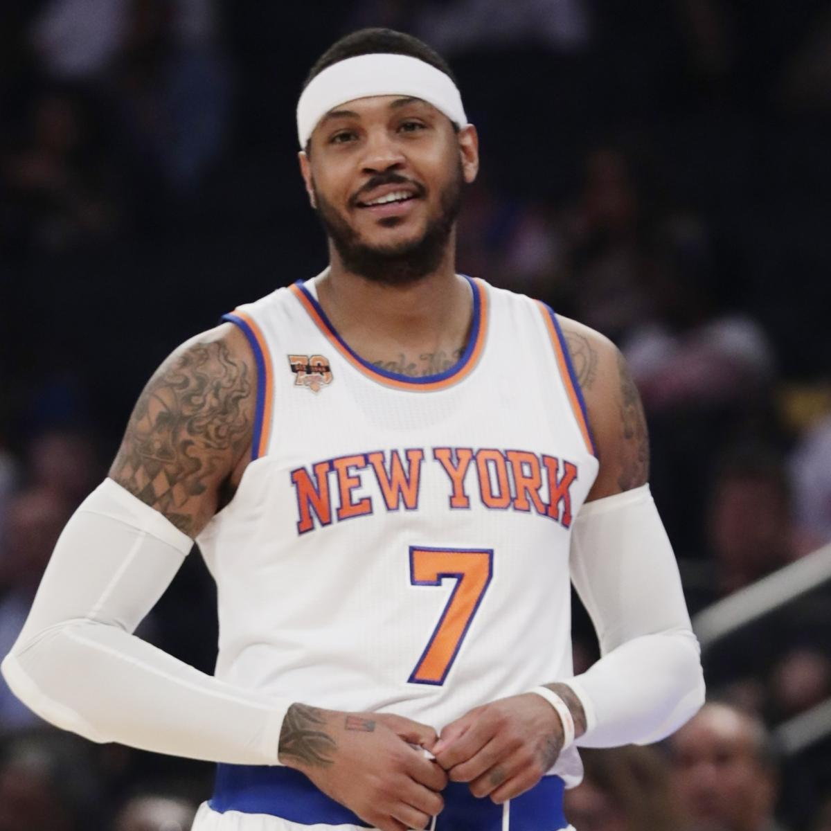Carmelo Anthony Trade Rumors: Blazers Want To Be Included
