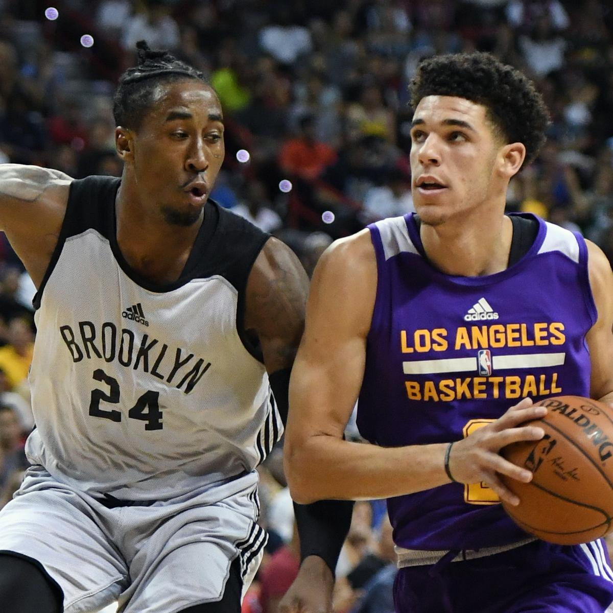 34f249fbdf85 Lonzo Ball Has Near-Triple-Double in Lakers  Summer League Win vs. Nets