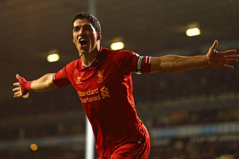 pretty nice 434a8 97bbb Chronology of Luis Suarez's Career-Defining Goals at ...